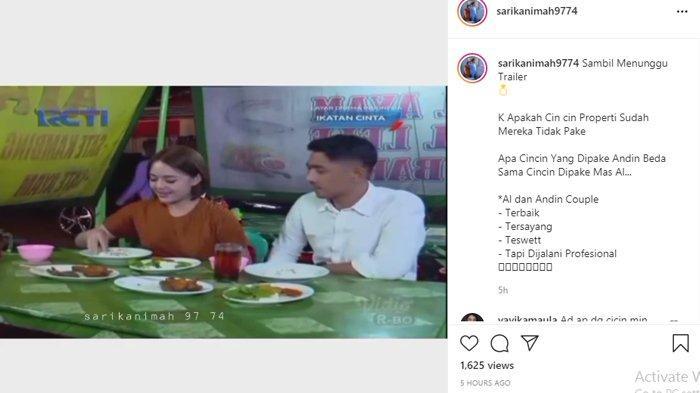 Aksi Amanda Manopo dan Arya Saloka Makan Pecel Lele Heboh, Andin dan Aldebaran Viral Lagi