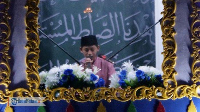 Perdana, Desa Rewak di Anambas Dipercaya Jadi Tuan Rumah MTQ Tingkat Kecamatan