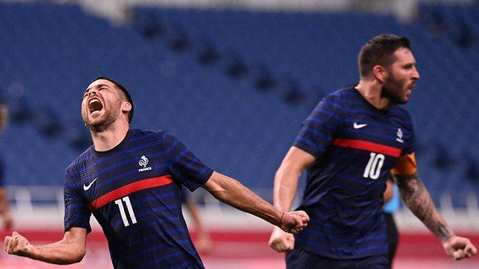 Hasil, Klasemen, Top Skor Sepakbola Olimpiade Tokyo 2020, Setelah Prancis Menang, Brazil Imbang