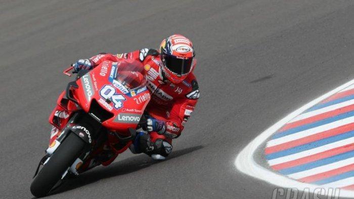 Jadwal MotoGP Eropa, Rider Aprilia Lorenzo Savadori Berharap Andrea Dovizioso Juara MotoGP 2020