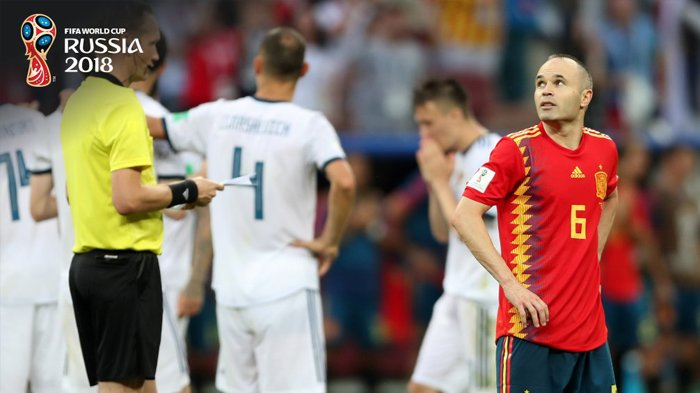 Ironis! Pecahkan Rekor 1.000 Operan, Spanyol Malah Tersingkir Lewat Adu Penalti