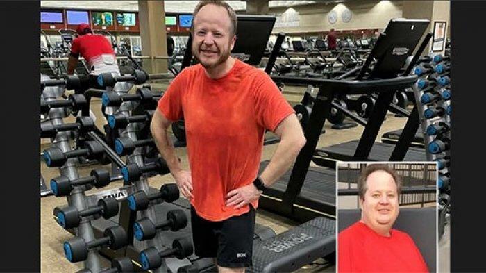 Pria Ini Berhasil Turunkan Berat Badan dari 158 Kg ke 74 Kg, Rahasia Alaminya Dibongkar
