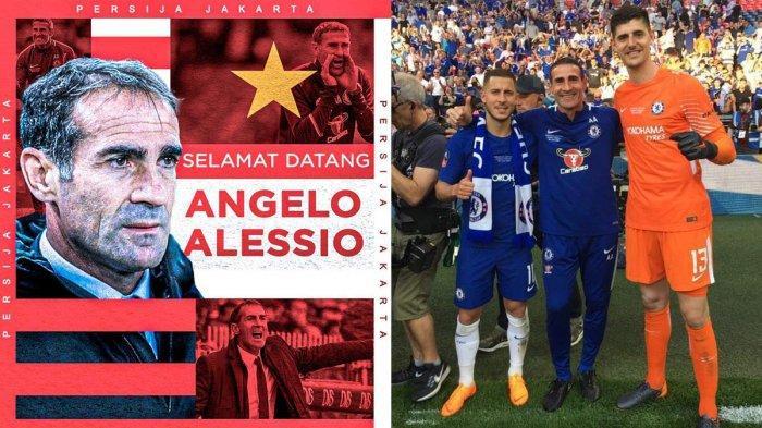 Profil Pelatih Baru Persija Angelo Alessio, Asisten Pelatih Antonio Conte di Juventus dan Chelsea