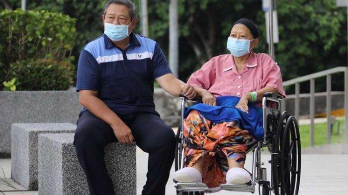 Sebelum Peti Jenazah Ani Yudhoyono Ditutup, SBY Ingin Mencium Istrinya Sekali Lagi
