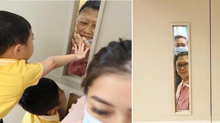 Kondisi Terbaru Ani Yudhoyono, Lepas Kangen dengan Cucu Terpisah Kaca. Alhamdulillah, Sudah Jalan