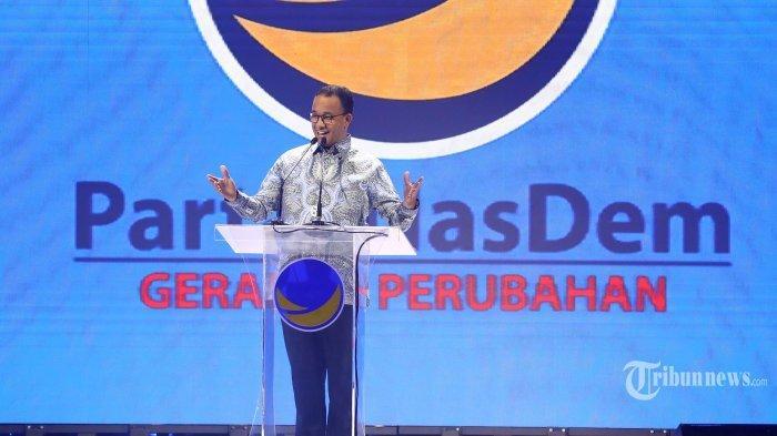 Anis Baswedan Buka Kongres Nasdem, Eks Ketua Umum Nasdem Kecewa, Surya Paloh Seolah Beri Panggung