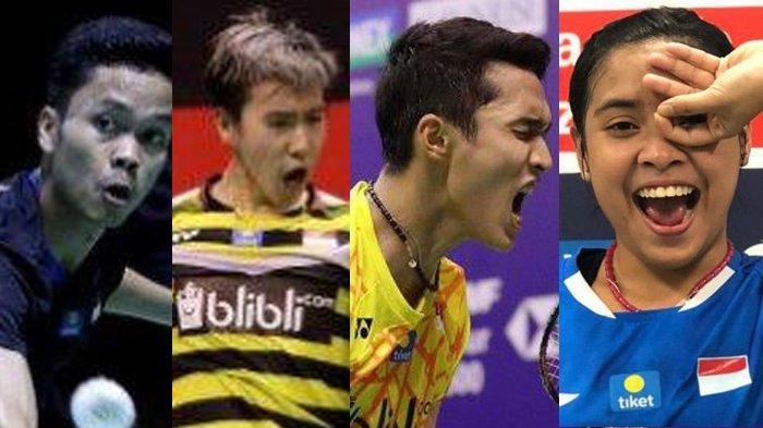 Indonesia Open 2019 Mulai Selasa, 16 Juli 2019, Inilah Jadwal Lengkap Pemain Indonesia