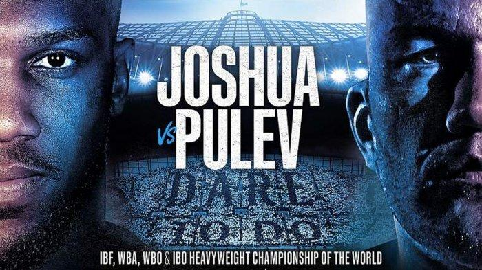 Nasib Pertarungan Tinju Dunia Anthony Joshua vs Kubrat Pulev Setelah Virus Corona Mewabah di Eropa