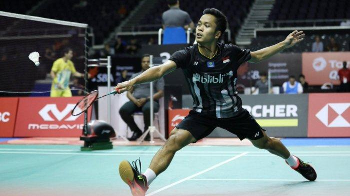Jadwal Toyota Thailand Open 2021, 10 Wakil Indonesia Main, Anthony S Ginting vs Lee Cheuk Yiu