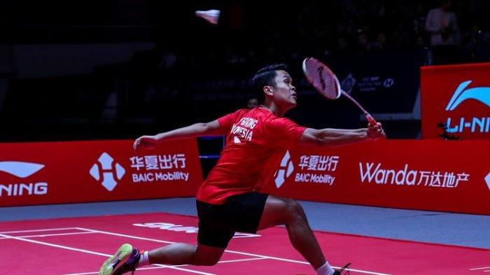 Sedang Berlangsung Live Streaming Thailand Open 2021, Anthony Sinisuka Ginting vs Kunlavut Vitidsarn