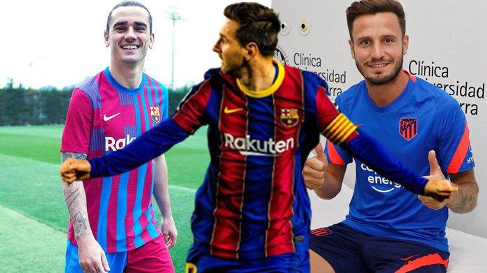 Berita Barcelona - Lionel Messi Teken Kontrak Baru di Camp Nou, Saul Niguez Tukar Antoine Griezmann?