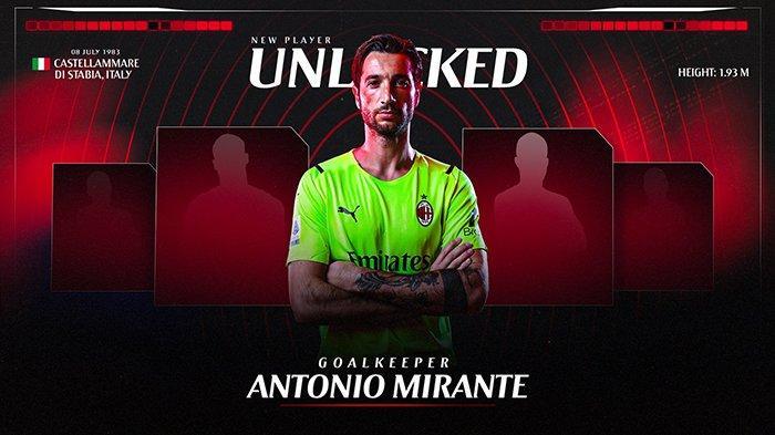 Transfer AC Milan - Antonio Mirante Esk AS Roma Resmi Jadi Kiper AC Milan, Maignan Menepi 10 Pekan