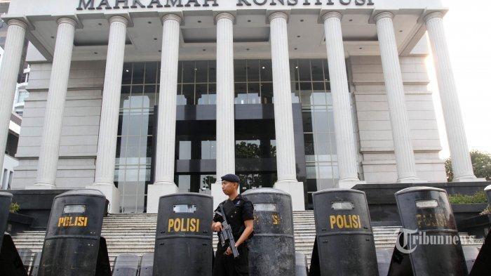 Jelang Sidang Sengketa Pilpres, 12 Ribu Polisi Sudah Bersiaga Penuh di Depan Mahkamah Konstitusi