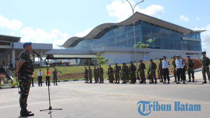 Pengamanan di Bandara Bukan Untuk Takuti Penumpang, Kata Danlanud Tanjungpinang