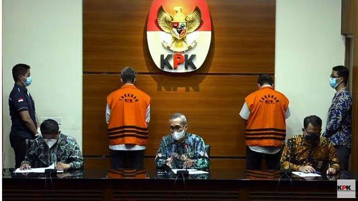 Konfrensi pers KPK Bupati Bintan Berinisial AS resmi Jadi tersangka KPK