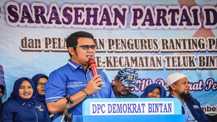 BREAKING NEWS, Apri Sujadi Dipecat dari Ketua DPD Demokrat Kepri