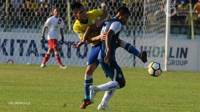 UPDATE! Hasil Arema FC vs Barito Putera - Singo Edan Sementara Unggul 2-0 atas Barito Putera