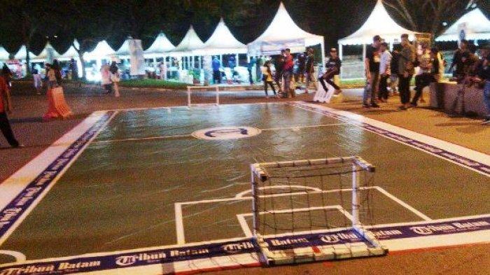 Pesta Bola Malam Ini, Ada Arena Mini Soccer Tribun Batam dengan Berbagai Hadiah Menarik