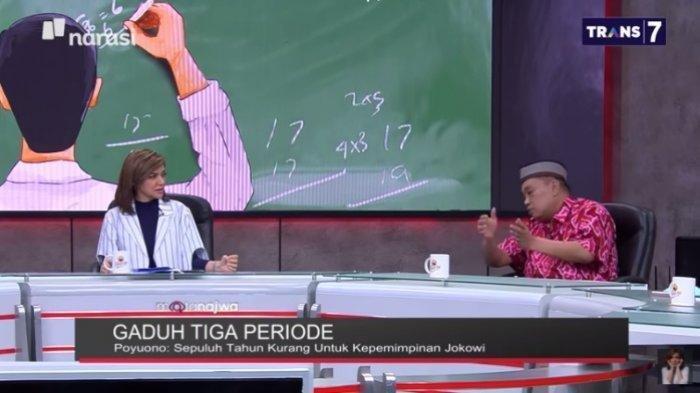 Arief Poyuono Yakin Rakyat Indonesia Setuju Presiden 3 Periode, Najwa Shihab: 10 Tahun Kurang?