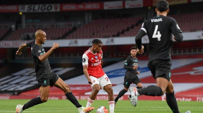 Siaran Langsung Arsenal vs Liverpool Liga Inggris Malam Ini, Kick Off 02.00 WIB via TV Online