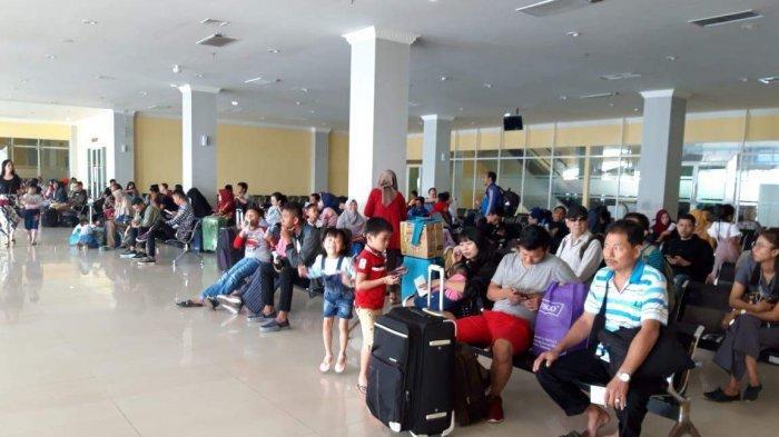 Harga Tiket Kapal Tetap Normal Jelang Imlek, Pemudik Mulai Ramai di Pelabuhan Sekupang Batam