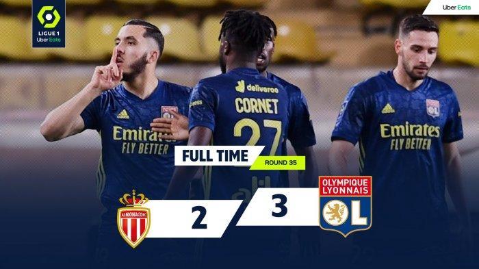 Hasil, Klasemen, Top Skor Liga Prancis Setelah Lille & PSG Menang Monaco Kalah, Kylian Mbappe 25 Gol
