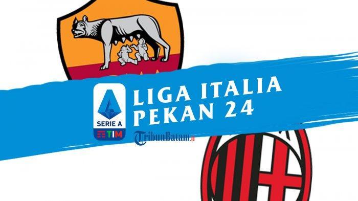 AS Roma vs AC Milan di pekan 24 Liga Italia 2020-2021, Selasa (2/3/2021) dinihari WIB