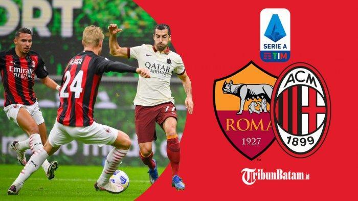 Head to Head 10 Laga Terakhir AS Roma vs AC Milan di Stadion Olimpico, Milan Baru 2x Menang, Sinyal?