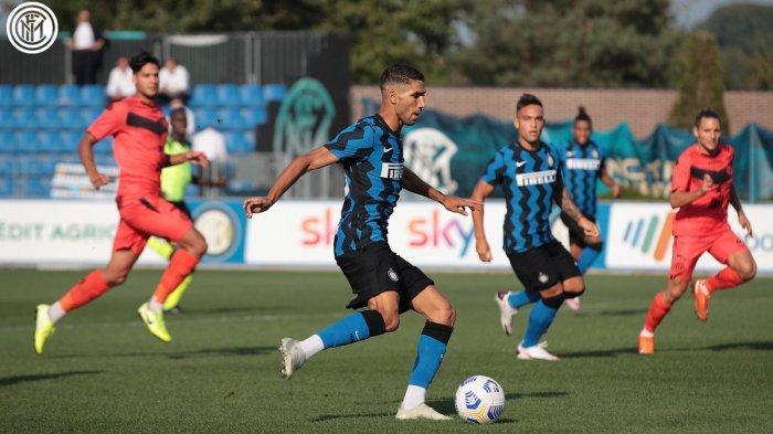 Hasil Inter Milan vs Lugano, Inter Pesta Gol, Achraf Hakimi Catat 2 Assist, Lautaro Martinez 2 Gol