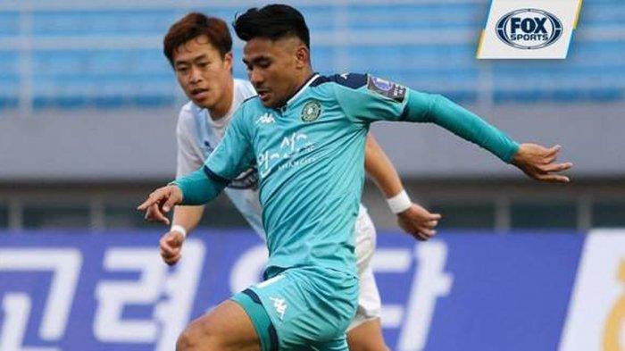 Asnawi Mangkualam Debut di Liga Korea Bersama Ansan Greeners, Shin Tae-Yong: Dia Melalui dengan Baik
