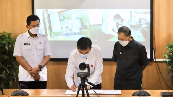 ATB Kerjasama Pengembangan SPAM Gedebage Bandung, Ini Harapan Walikota Bandung