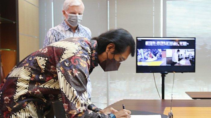 MoU dengan Perumda Tirtawening Bandung, Babak Baru ATB Untuk Indonesia
