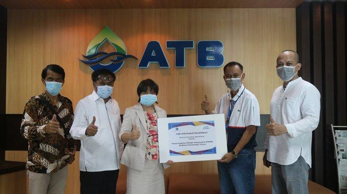 ATB Salurkan Bantuan Pendidikan ke PKBM Budiman Drestanta Tiyasa, Bantu Anak Kurang Mampu