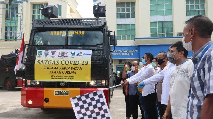 Bersama Lawan Virus Corona, ATB Sediakan 24 Ton Disinfektan, Cegah Penyebaran Covid-19 di Kota Batam