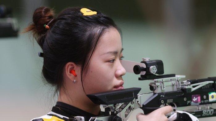 Penembak China Rebut Emas Pertama Olimpiade, Pebulutangkis Jonatan Christie Menang Laga Pertama