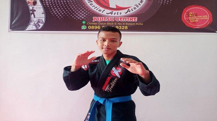 Cerita Danang Yoga Gunawan, Atlet Jujitsu Kepri Ikut PON XX Papua, Fokus Jaga Badan