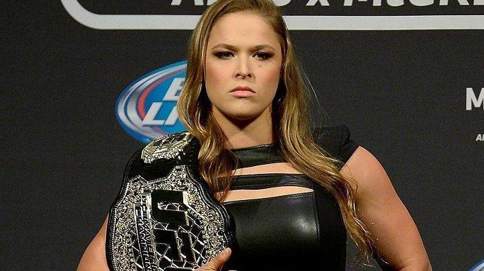 Frustrasi Kalah Bertarung hingga Sempat Dibuang UFC, Ronda Rousey Bintang Baru WWE