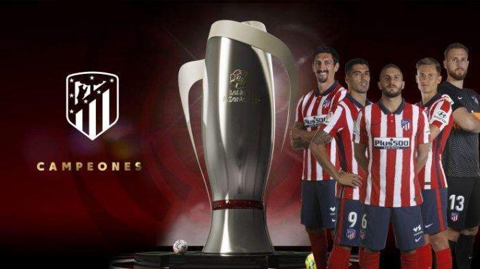 Klasemen Akhir Liga Spanyol - Atletico Madrid juara Liga Spanyol 2020-2021 peringkat 1 klasemen Liga Spanyol 2020-2021 dengan nilai 84.