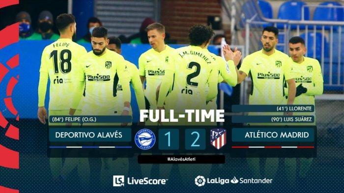 Hasil, Klasemen, Top Skor Liga Spanyol Setelah Barcelona Menang, Atletico Menang, Luis Suarez 9 Gol