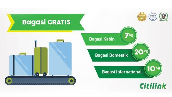 Mulai 8 Januari Bagasi Lion Air dan Wings Air Wajib Bayar, Bagaimana dengan Citilink?