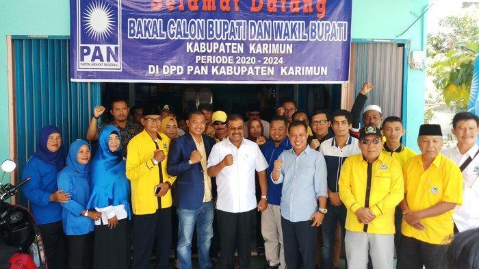 Kembalikan Formulir, Ketua DPD Partai Golkar Karimun Sebut Didukung PAN Sejak Pilkada 2006