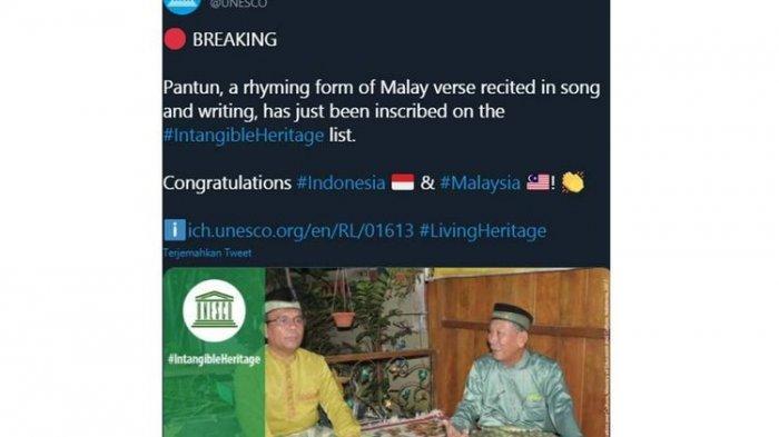 Kumpulan Pantun Melayu Berisikan Nasihat hingga Jenaka, Jadi Warisan Budaya Dunia