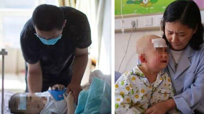 Malangnya Nasib Bocah Ini, Takut Mati Minta Sang Ayah Selamatkan Dirinya Dari Kanker