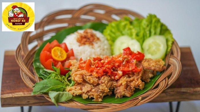 Pedas Gila! Ayam Geprek Kokoke Cocok Buat Pecinta Makanan Pedas di Batam