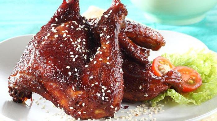 Resep Masak Ayam Panggang Bumbu Tiram Sedapnya Emang Juara Cocok Untuk Menu Makan Siang Tribun Batam