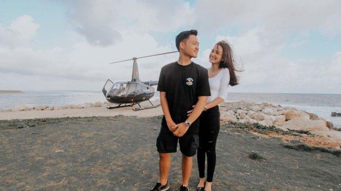 Rayakan 1 Tahun Jadian, Azriel Sampai Sewa Helikopter, Sarah Menzel Beri Kode Soal Pernikahan