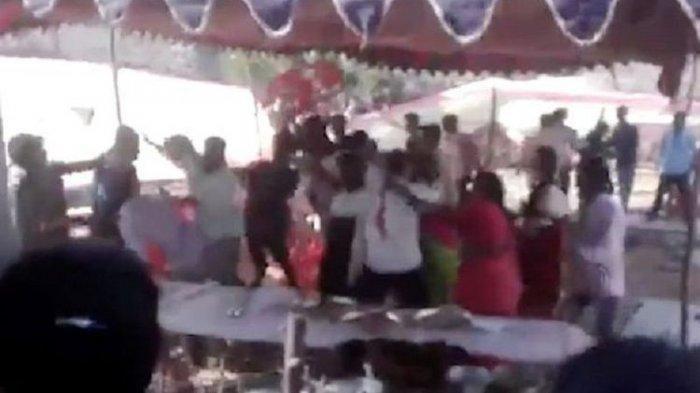 Gara-gara Musik Mati, Pesta Pernikahan di Batam Berakhir Ricuh, Pengunjung Terlibat Adu Fisik