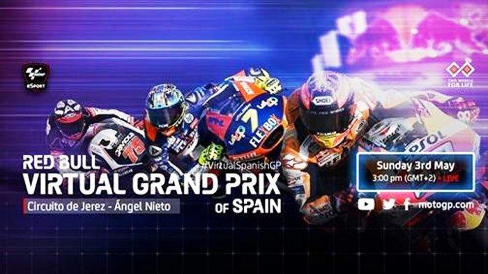 3 Link Live Streaming MotoGP Virtual GP Spanyol Minggu (3/5) Malam Ini, Mulai Pukul 20.00 WIB