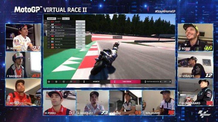 MotoGP Virtual Seri Ketiga Segera Digelar, Kali Ini Kelas Moto2 dan Moto3 Juga Dilombakan
