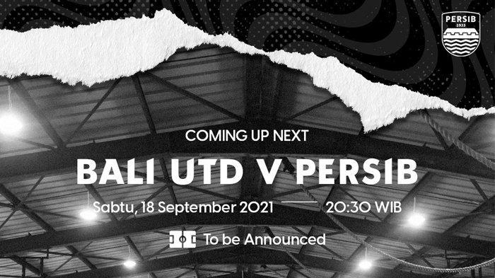 Jadwal BRI Liga 1 2021-2022 Pekan 3, Bali United vs Persib Bandung, Persipura vs Persija Jakarta